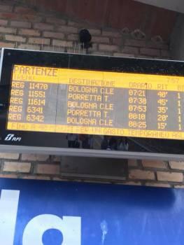 Tabellone treni Silla 24sett18