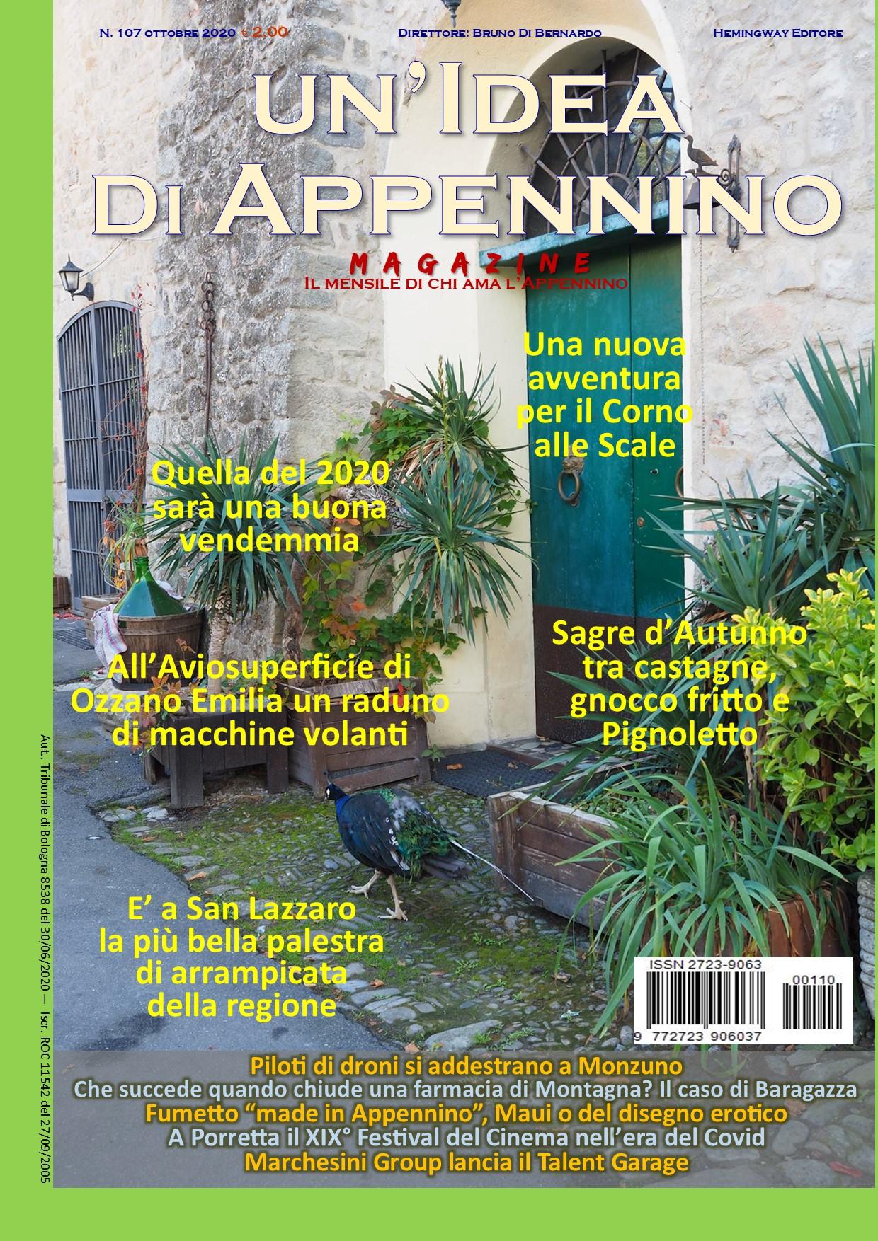 Idea107Magazine_Ottobre20_PrimaPagina