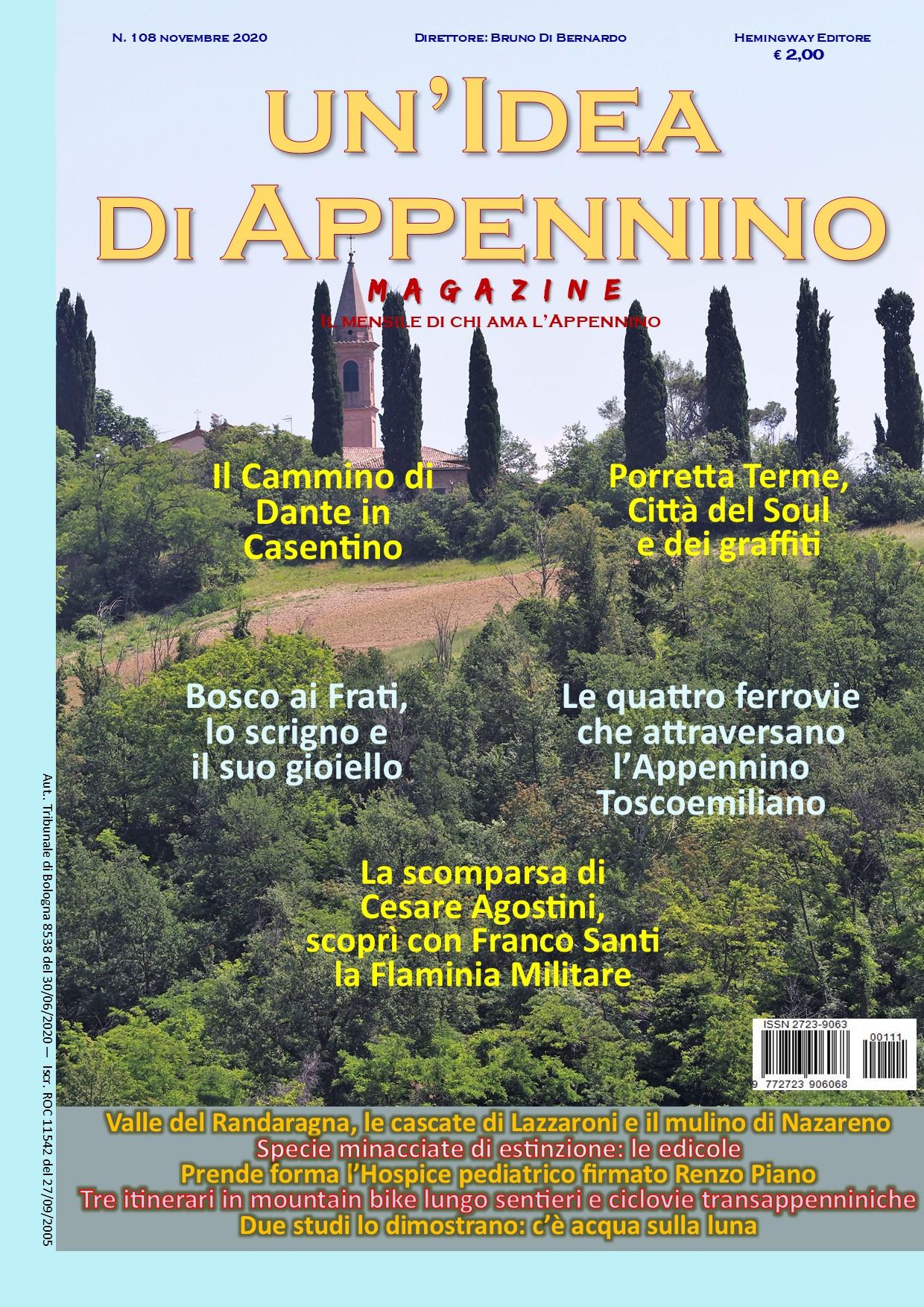 Idea108Magazine_Novembre20_PrimaPagina
